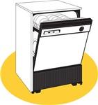 Pop Art - 'Dishwasher'
