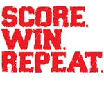 Score. Win. Repeat.