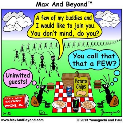 Cartoon: Ants at Picnic