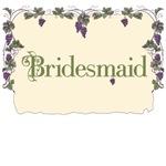 Bridesmaid Vineyard T-Shirts