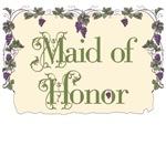 Maid of Honor Vineyard T-Shirts