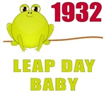 1932 Leap Year Baby T-Shirts