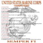 Marine General Orders