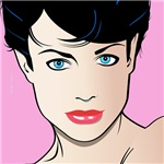 Pop Art Girl Pat