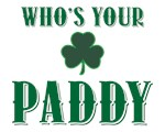 It's Paddy Not Patty