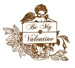 Vintage Cupid Valentine