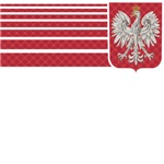 Polish Plaid Eagle Crest