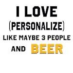 I Love ... Personalize