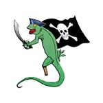 Pirate Gecko