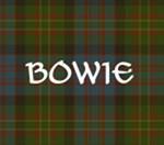 Bowie Tartan