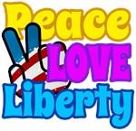 Peace Love Liberty