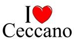I Love (Heart) Ceccano, Italy