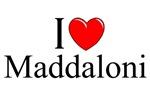 I Love (Heart) Maddaloni, Italy