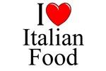 I Love (Heart) Italian Food