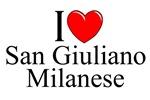 I Love (Heart) San Giuliano Milanese, Italy