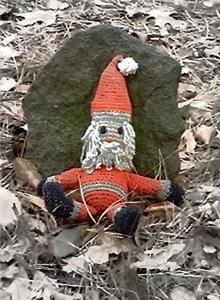 Grungy Santa Doll