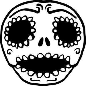 Cute Sweet Skull