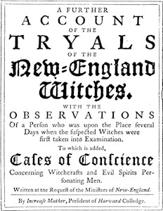 Old Salem Witch Trials Page