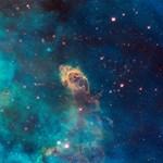 Space Nebula Pattern