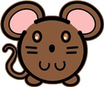 Brown Mousie T-shirts