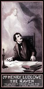 Poe Vintage Raven Theatrical Poster