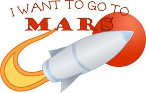 Retro I Want To Go To Mars