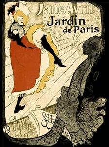 Vintage Cancan Poster Art