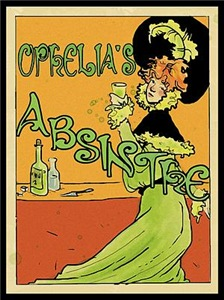 1890s Style Ophelia's Absinthe
