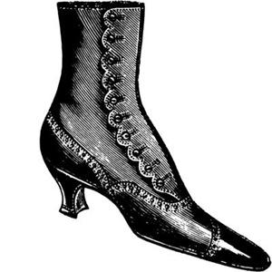 Victorian Lady's Shoe