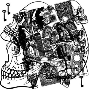 Gothic Skull Collage