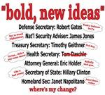 Anti-Obama: Bold New Ideas