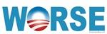Anti-Obama Worse