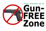 Gun Free Zone Yard Signs, Tees & Gift for Liberal