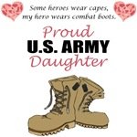 Proud US Army Daughter (Custom)