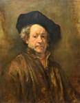 Famous Paintings: Rembrant Self Portrait
