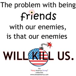Enemies are not Friends