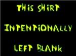 Shirt Left Blank