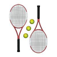 Tennis and three balls