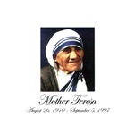 Mother Teresa - Memorial Portrait
