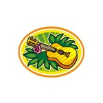 Hawaiian Ukulele Luau – Retro Tiki