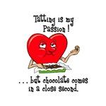Tatting and Chocolate