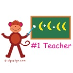 gifts for teacher appreciation - Monkey Teacher