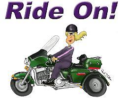 Ride On, Louisa!