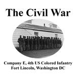 Fort Lincoln Civil War Photograph