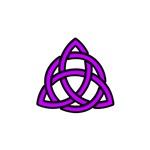 Celtic Knot Purple