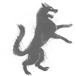 Grungy Grey Wolf