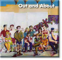 Out And About - Street Scenes- LGBT- Paintings