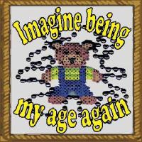 imagine being my age again