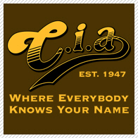 C.i.a. Where everybody knows your name