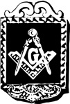 Masonic Square and Compass #66